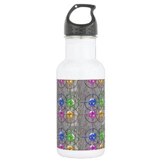 FOCUS symbol Management MANTRA NVN175 NavinJOSHI Stainless Steel Water Bottle