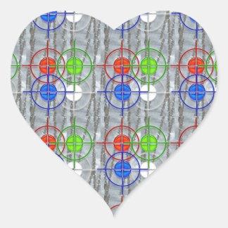 FOCUS symbol SUCCESS Mantra NVN174 NavinJOSHI Heart Sticker
