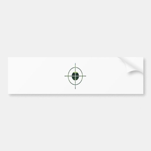 FOCUS Target GREEN Environment Clean Energy NVN252 Bumper Stickers