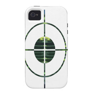 FOCUS Target GREEN Environment Clean Energy NVN252 Case-Mate iPhone 4 Case