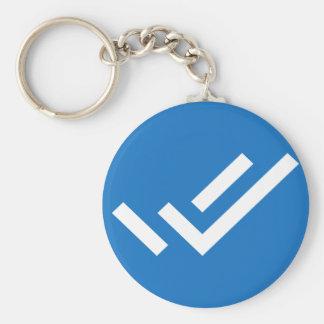 Focus Task Logo Keychain