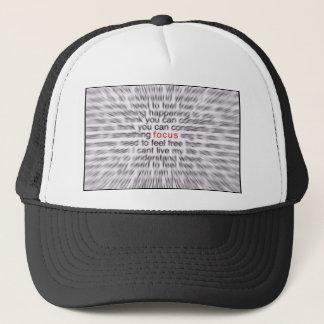 FOCUS! TRUCKER HAT