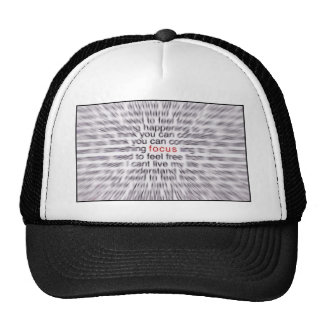 FOCUS! TRUCKER HAT