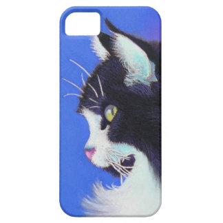 Focus Tuxedo Cat iPhone SE/5/5s Case