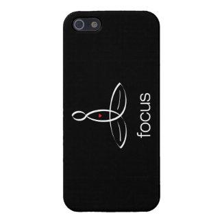 Focus - White Regular style iPhone SE/5/5s Cover