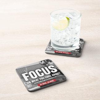 FOCUS - Workout Motivational Coaster