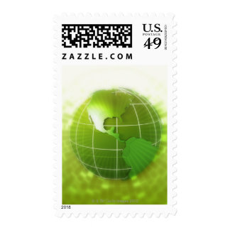 Focused on Americas Postage Stamp