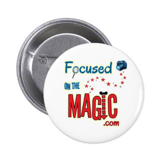 Focused on the Magic Button