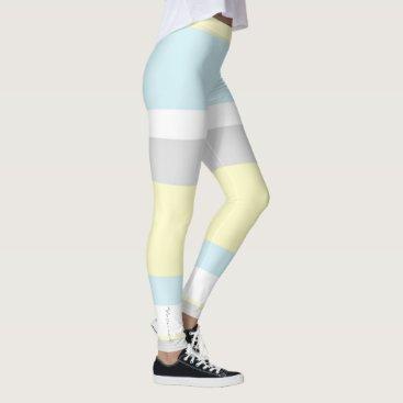 loscrazyavocados Focused Pastel Colors Leggings