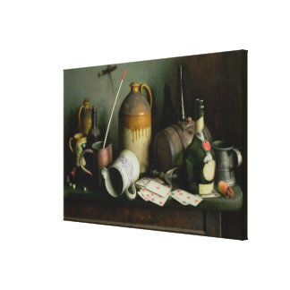 Foes in the Guise of Friends Canvas Print