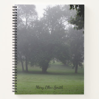 Fog Among The Trees Notebook