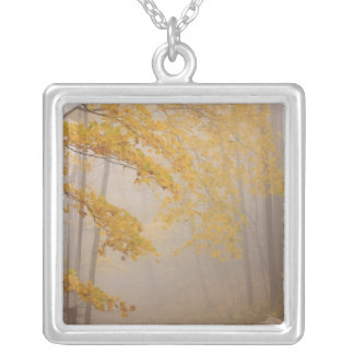 Fog and Autumn foliage, Great Smoky Mountains Custom Jewelry