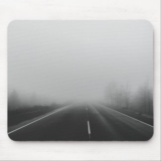 Fog and Road Mouse Pad