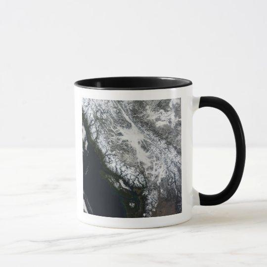 Fog and snow in British Columbia Mug