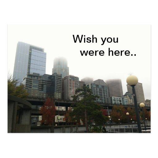 Fog City Post Card