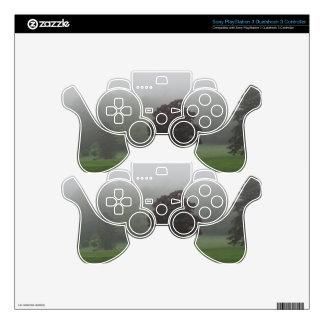 Fog Filled Landscape Skins For PS3 Controllers