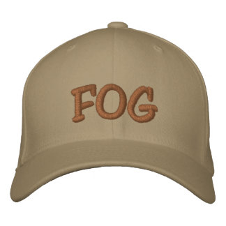 FOG  Hat Embroidered Baseball Caps