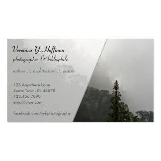Fog in the Hills Business Card