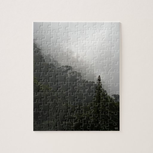 Fog in the Hills Jigsaw Puzzle