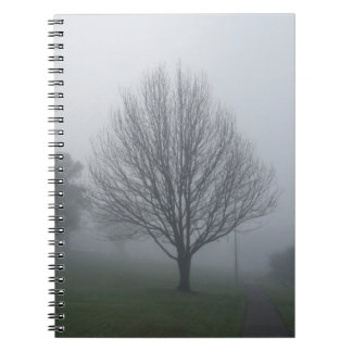 Fog in the Park Notebook