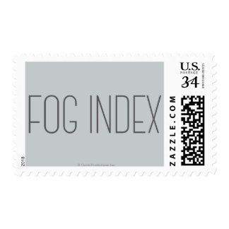 Fog Index Postage