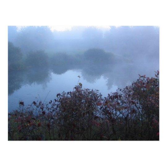 fog lake postcard