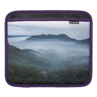 Fog Landscape Blue Mountains Laptop Sleeve