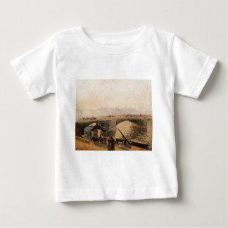 Fog, Morning, Rouen by Camille Pissarro T-shirt