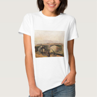 Fog, Morning, Rouen by Camille Pissarro Tees