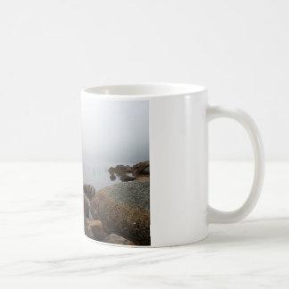 Fog On Jordan Pond Coffee Mug