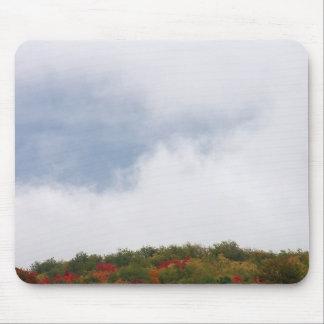 Fog Over Hillside--1 Mouse Pad