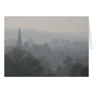Fog over Masham Card