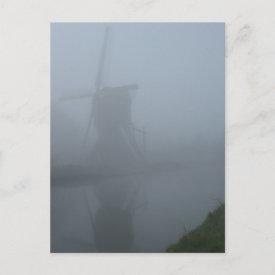 Fog postcard