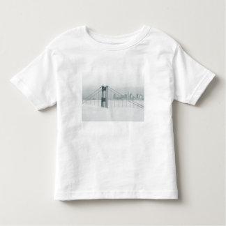 Fog rolls through the San Francisco bay 2 Toddler T-shirt
