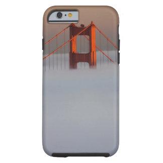 Fog rolls through the San Francisco bay covering 2 Tough iPhone 6 Case