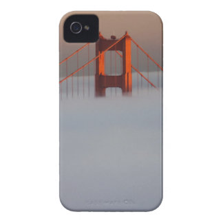 Fog rolls through the San Francisco bay covering 2 iPhone 4 Case