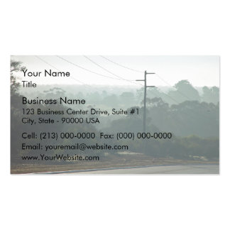 Fog Scenery Business Cards