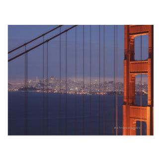Fog shrouds the City Postcard