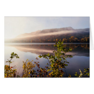 Fog Striped Reflection Card