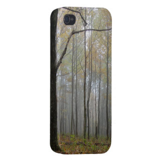 Fog Through the Trees iPhone Case