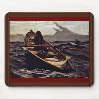 Fog Warning (The Fog Warning) By Homer Winslow Mouse Pad