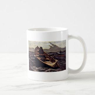 Fog Warning (The Fog Warning) By Homer Winslow Classic White Coffee Mug