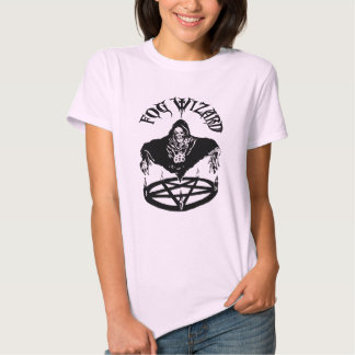 Fog Wizard awesome evil chick T Tee Shirts