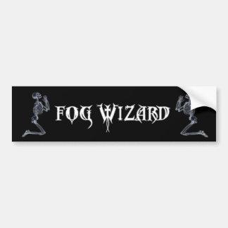 Fog Wizard Pray for Your Sins Bumpersticker Bumper Sticker