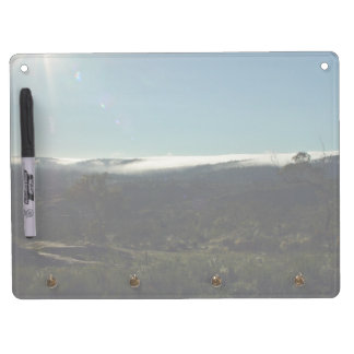 Fog wreathed mountains Dry-Erase board