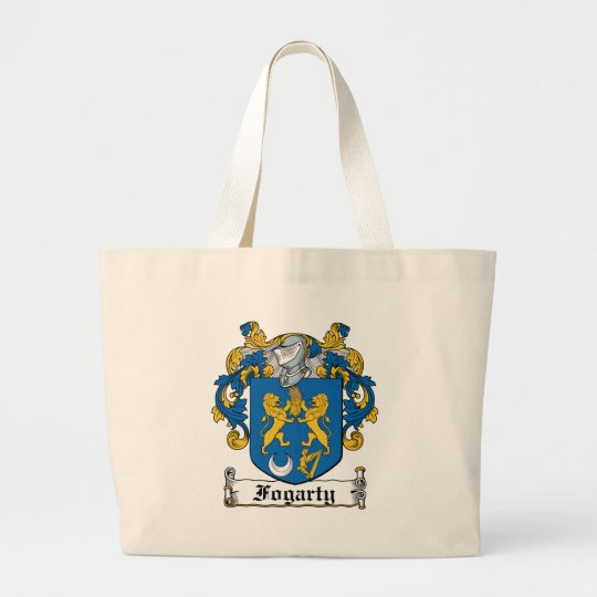 Fogarty Family Crest Large Tote Bag