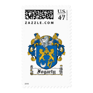 Fogarty Family Crest Postage