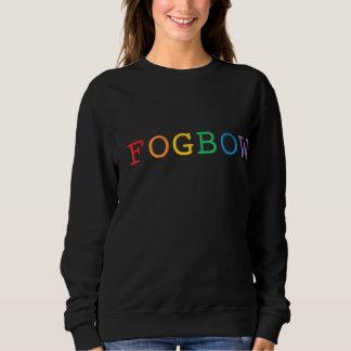 Fogbow Word Embroidered Sweatshirt