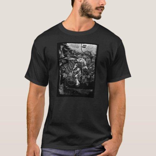 FOGcon 5 The Traveler Dark Non_Fitted T_shirt