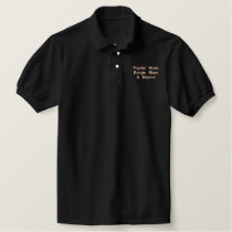 Fogdan Music Boogie, Blues & Beyond Embroidered Polo Shirt